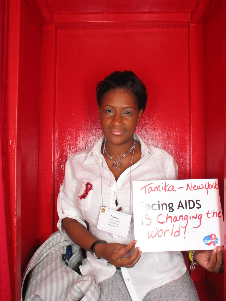 Facing AIDS is changing the world!