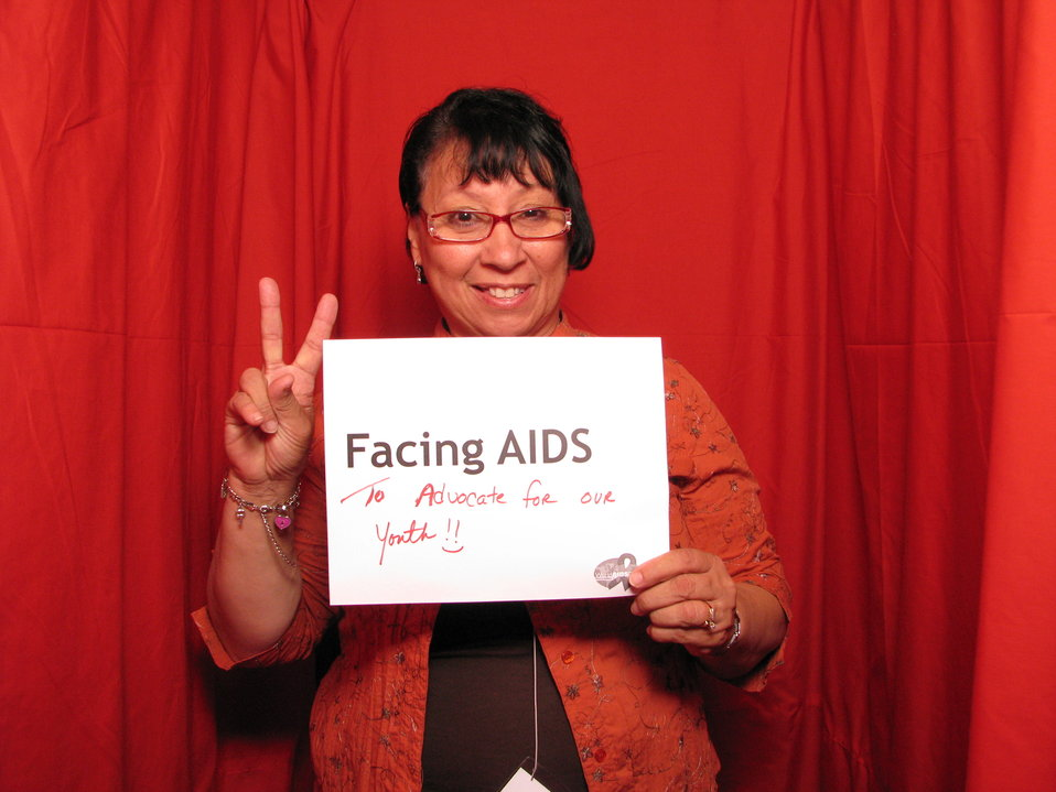 FACING AIDS to advocate for our youth!! :-)