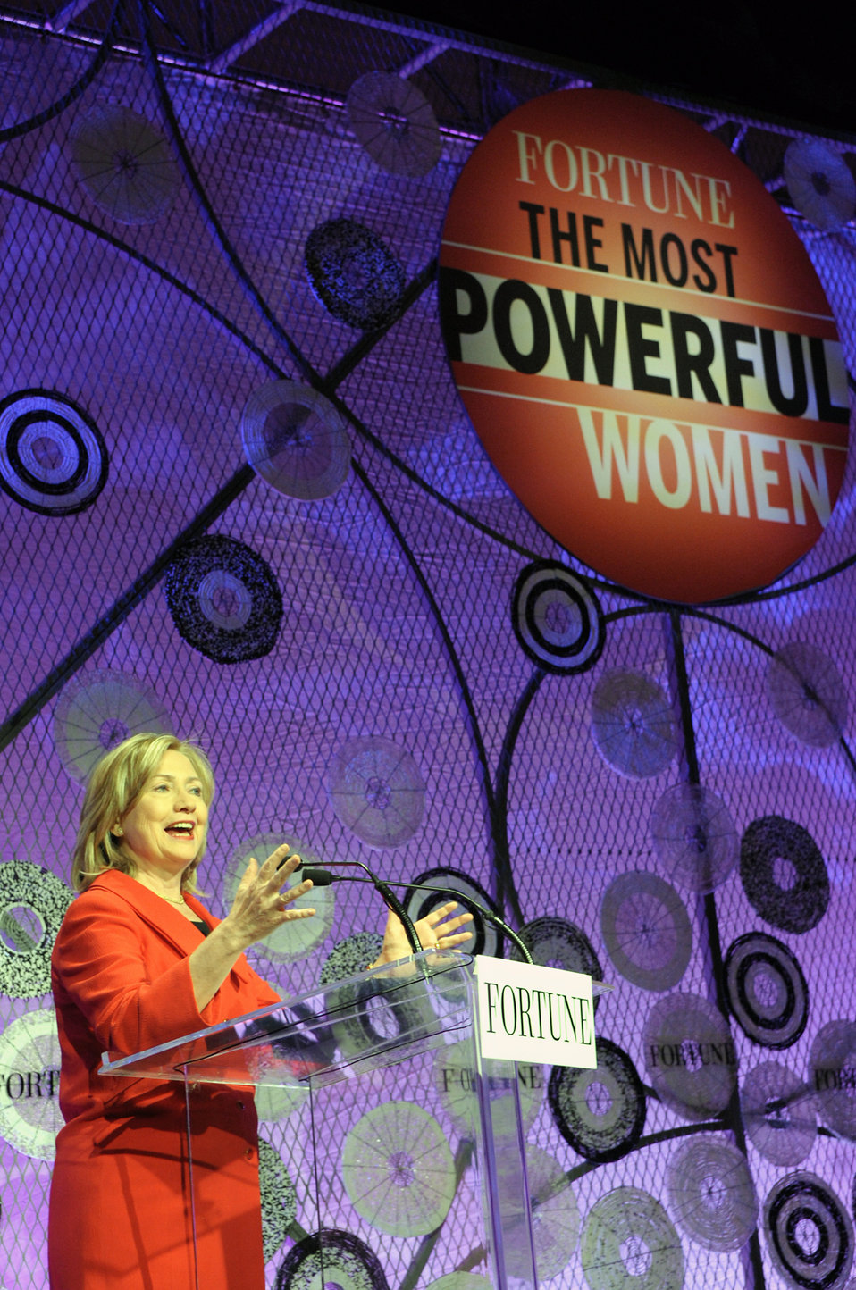 Secretary Clinton Delivers Remarks at the 12th Annual Fortune Most Powerful Women Summit