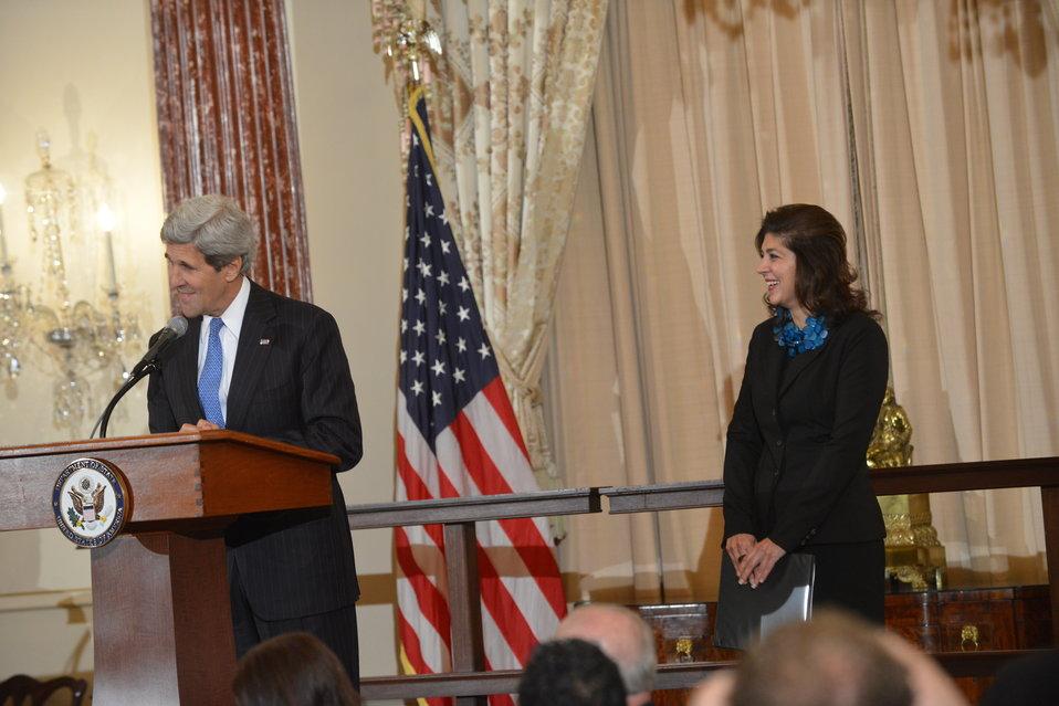 Secretary Kerry Hosts an Iftar