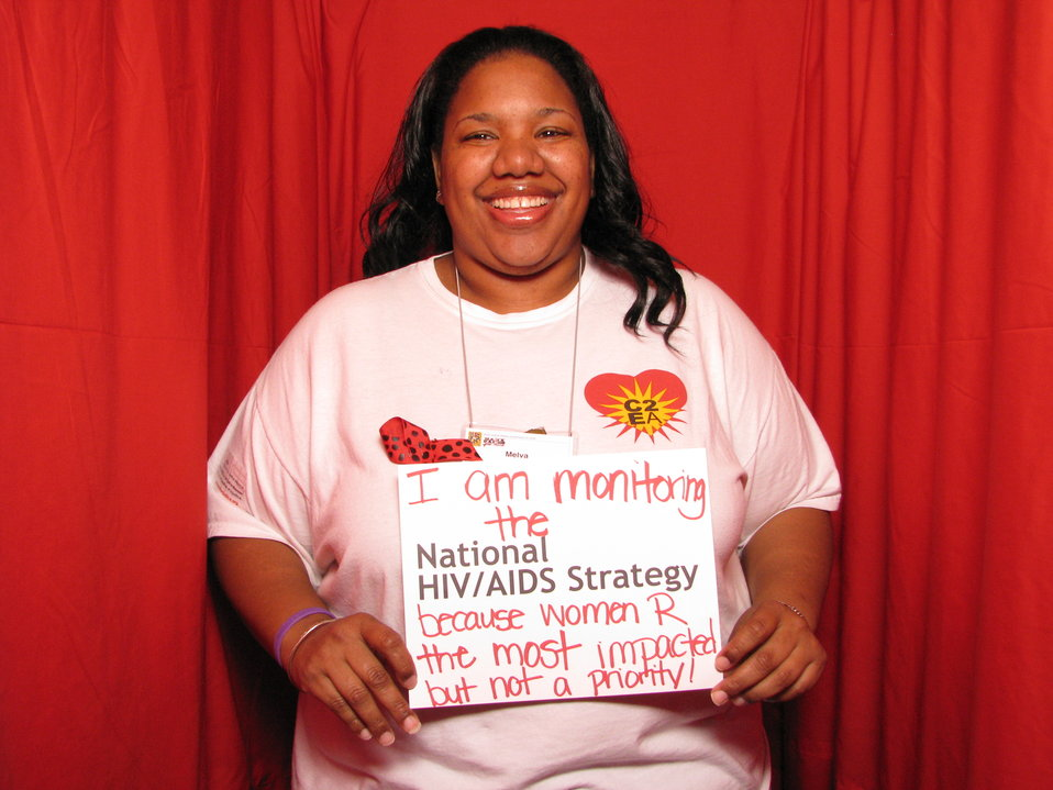 I am monitoring the National HIV/AIDS Strategy because women R the most impacted but not a priority!