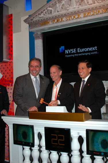 Assistant Secretary Campbell Takes His Turn at NYSE