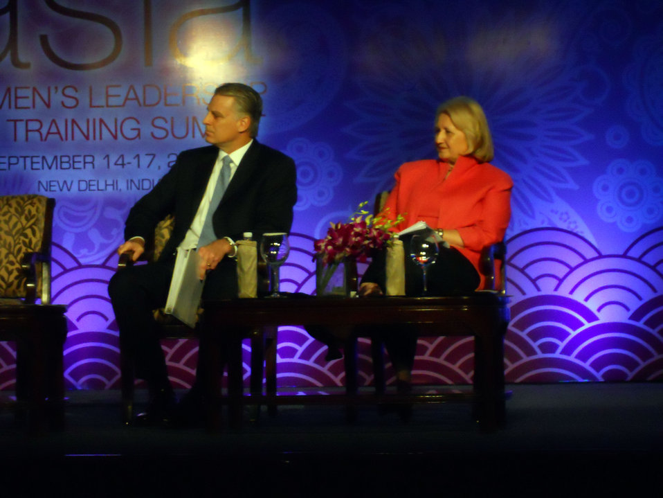 Ambassador Roemer and Ambassador Verveer Participate in a Panel Discussion