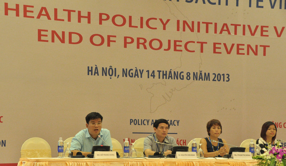 USAID Health Policy Initiative End of Project Workshop