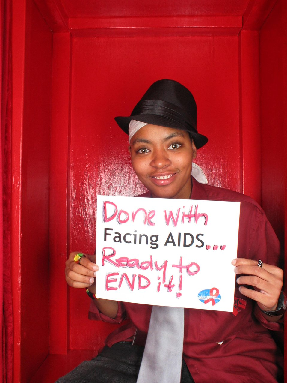 Done with Facing AIDS...ready to end it!