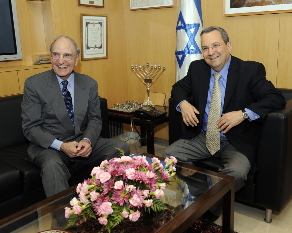 Special Envoy Mitchell Meets With Israeli Foreign Minister Barak