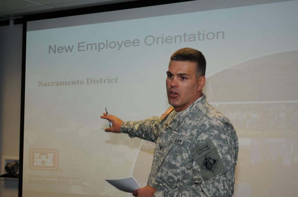 Col. Bill Leady addresses LDP II grads