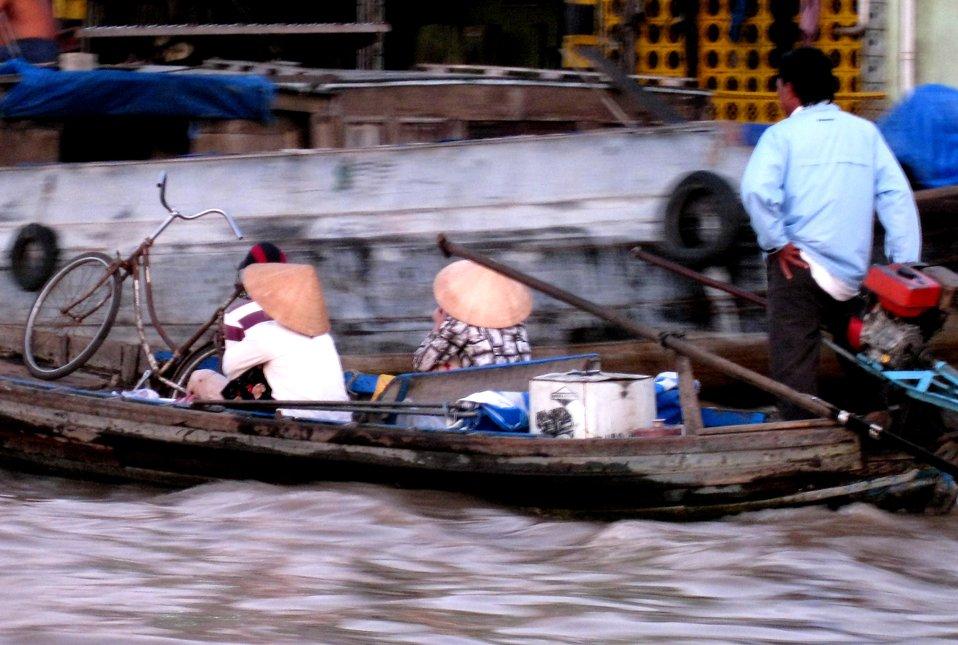 Bumpy waters on Vietnam's Mekong Delta