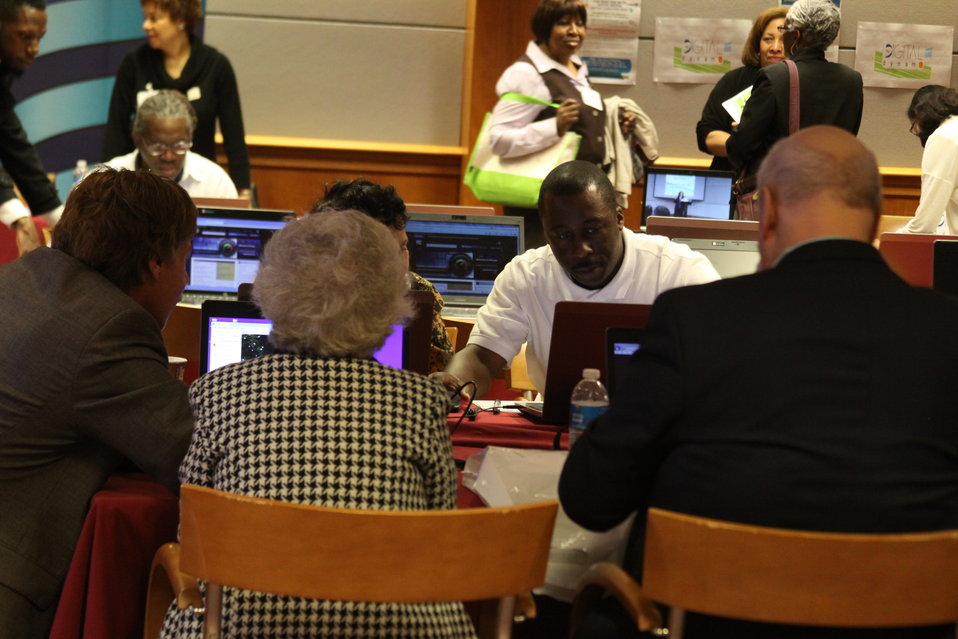 Digital Literacy for Seniors:  How the Internet Can Benefit Older Americans, April 24, 2013