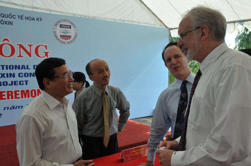 Environmental Remediation of Dioxin Contamination at Danang Airport Project Launch