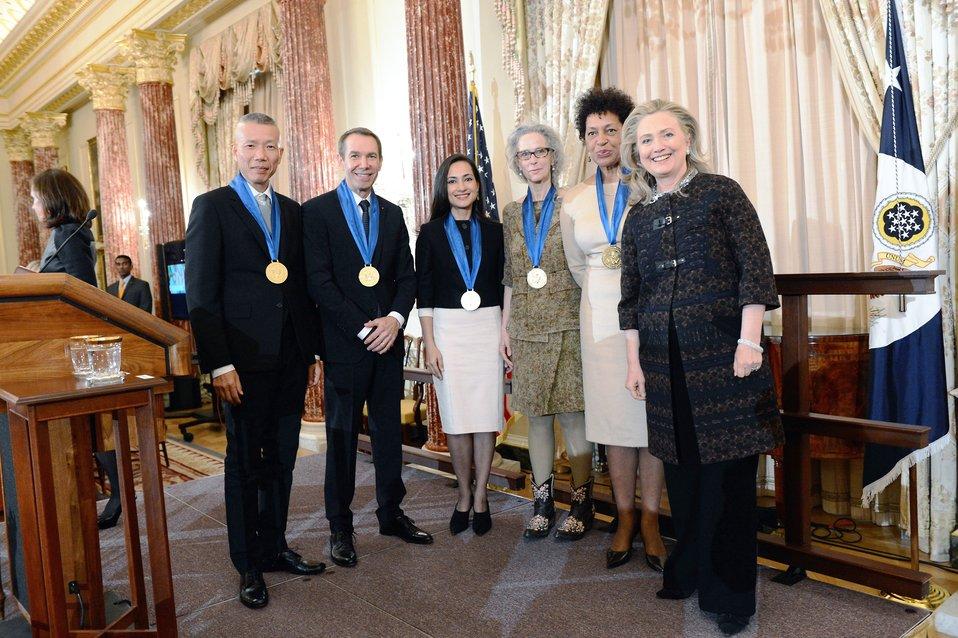 Secretary Clinton at the Art in Embassies 50th Anniversary Celebration