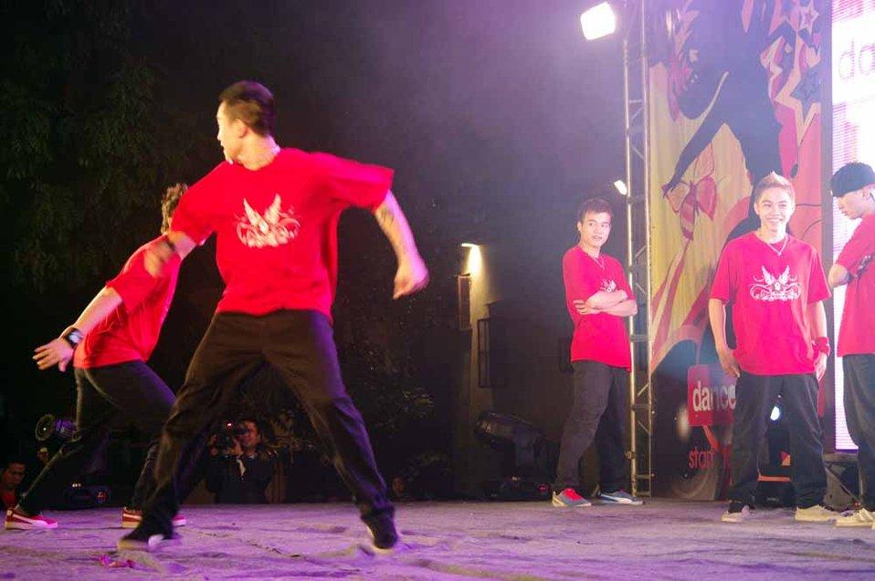 dance4life, Hanoi