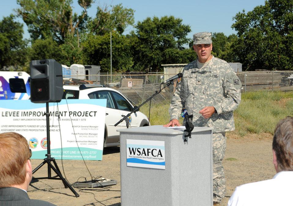 Col. Bill Leady commends WSAFCA