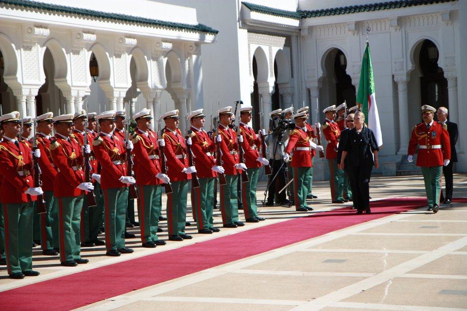 Secretary Clinton Prepares To Meet With Algerian President Bouteflika