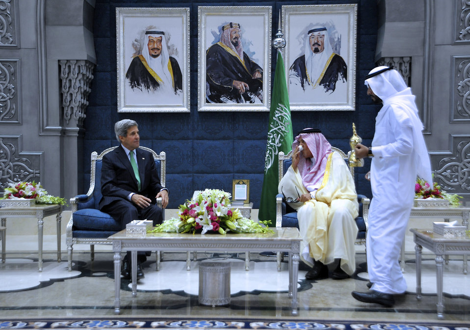 Secretary Kerry Meets With Saudi Foreign Minister al-Faisal