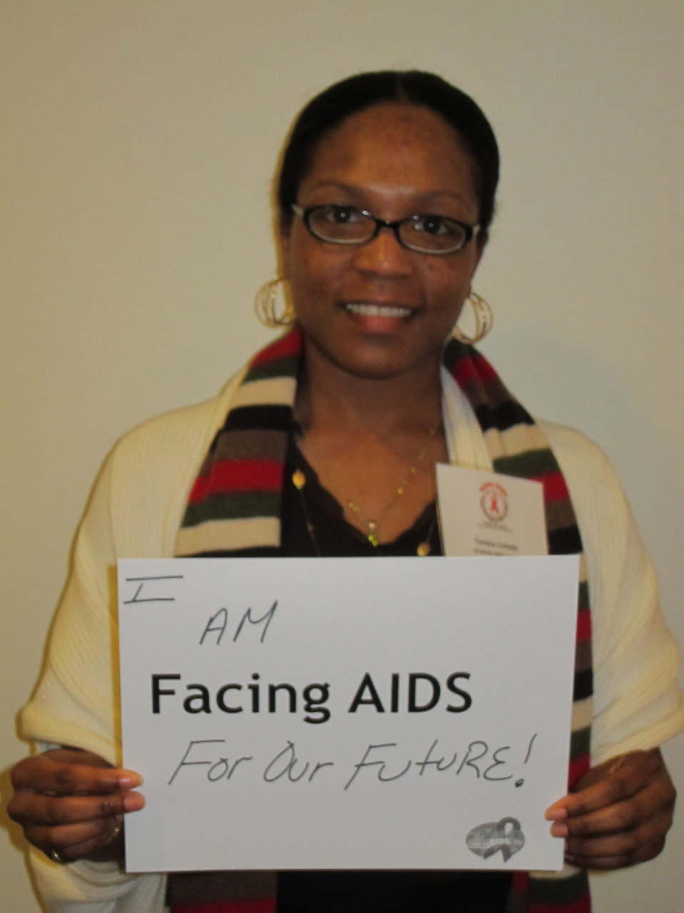 I am Facing AIDS for our future!