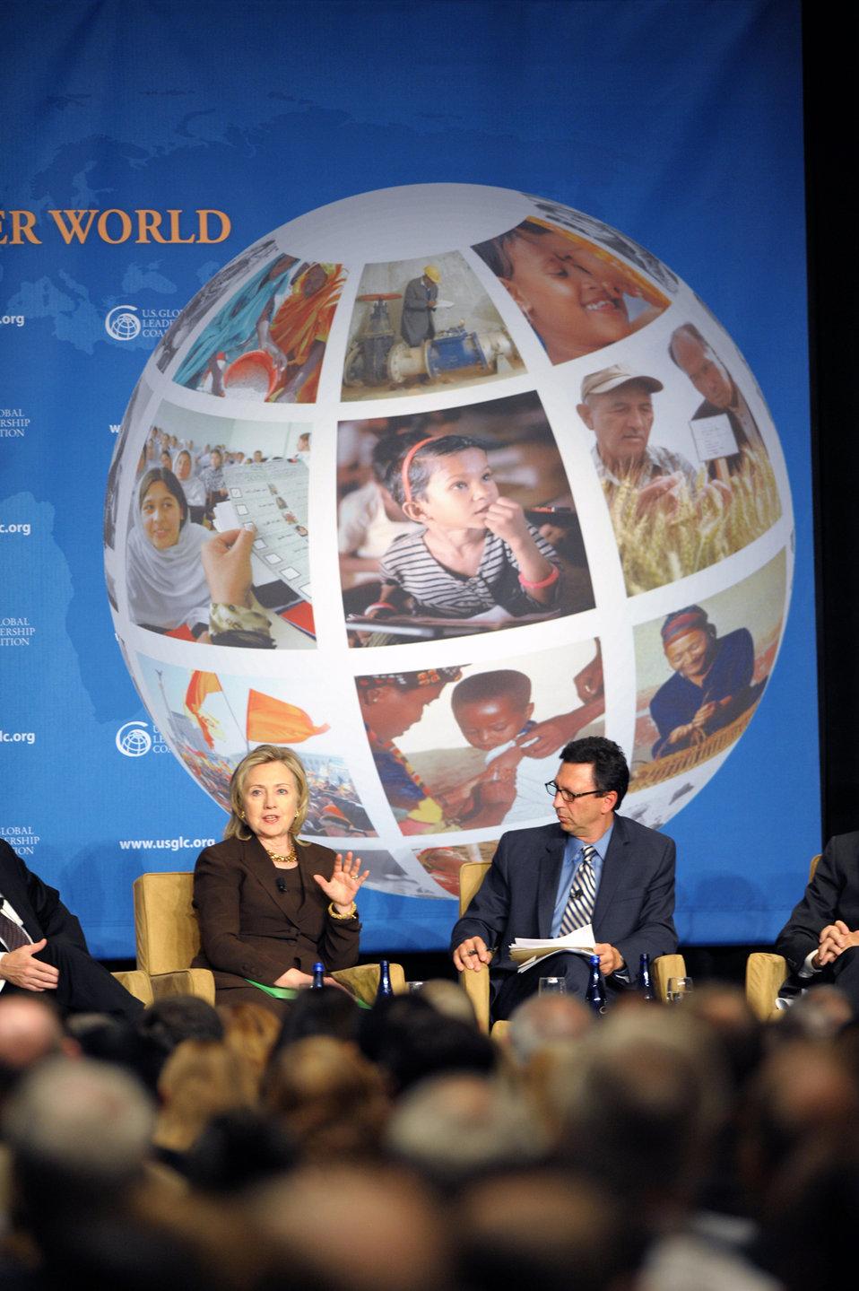 Secretary Clinton Participates in the U.S. Global Leadership Coalition