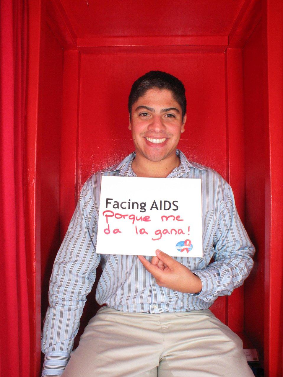 Facing AIDS porque me da la gana!