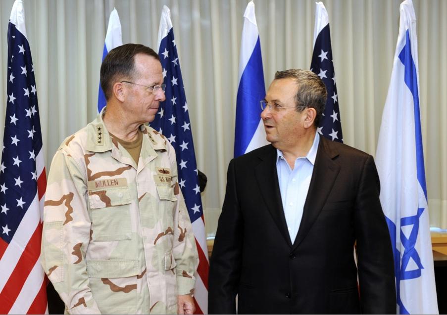 Admiral Mullen Speaks With Israeli Defense Minister Barak