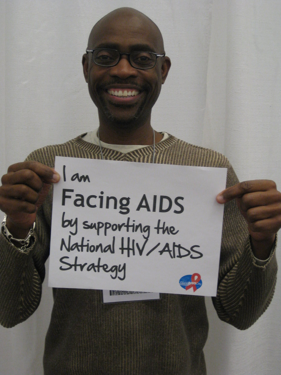 I am FACING AIDS by supporting the National HIV/AIDS Strategy
