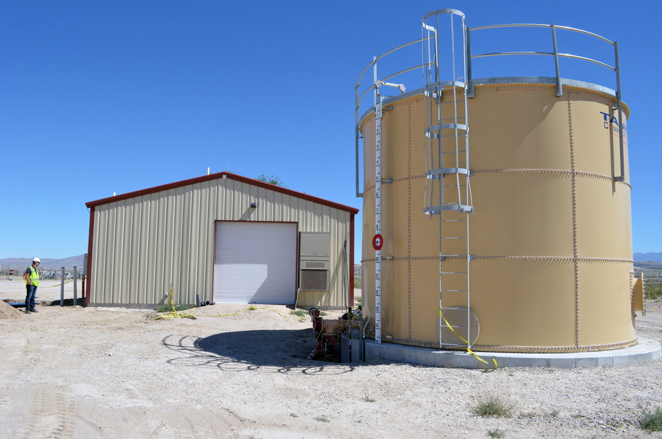 Water system project continues at Dugway Proving Grounds