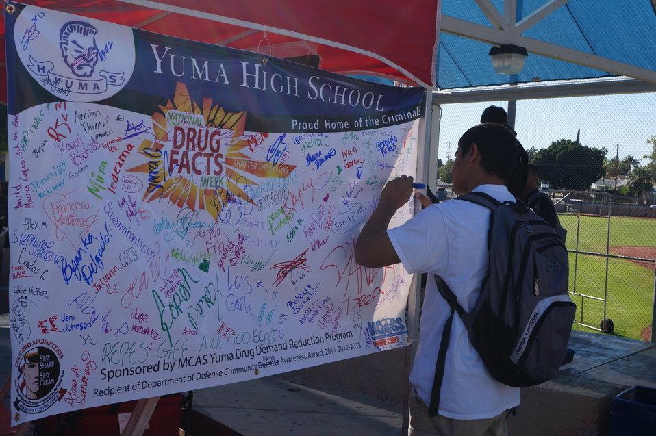 National Drug Facts Week - YUMA HIGH