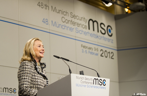 Secretary Clinton Speaks at Munich Security Conference
