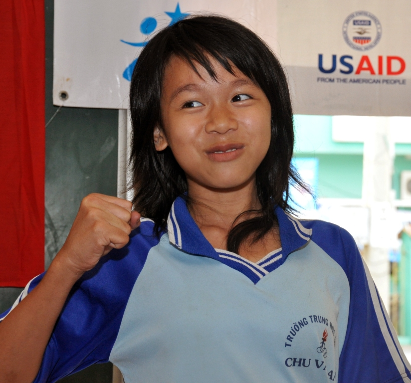 USAID supports girls education