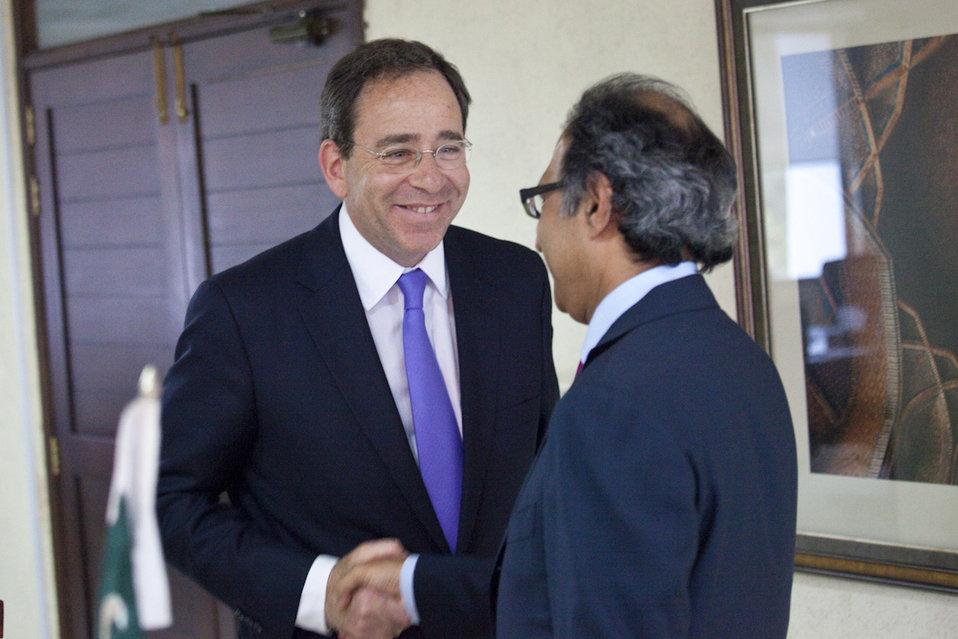 Deputy Secretary Nides Meets With Pakistani Finance Minister Shaikh