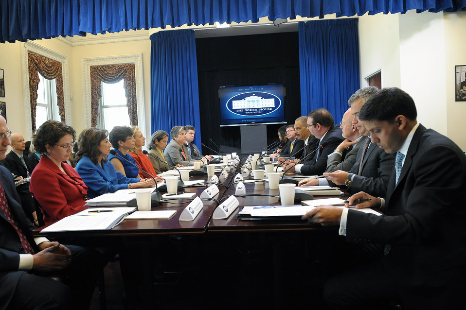 Secretary Clinton Chairs the Interagency Task Force to Monitor and Combat Trafficking in Person
