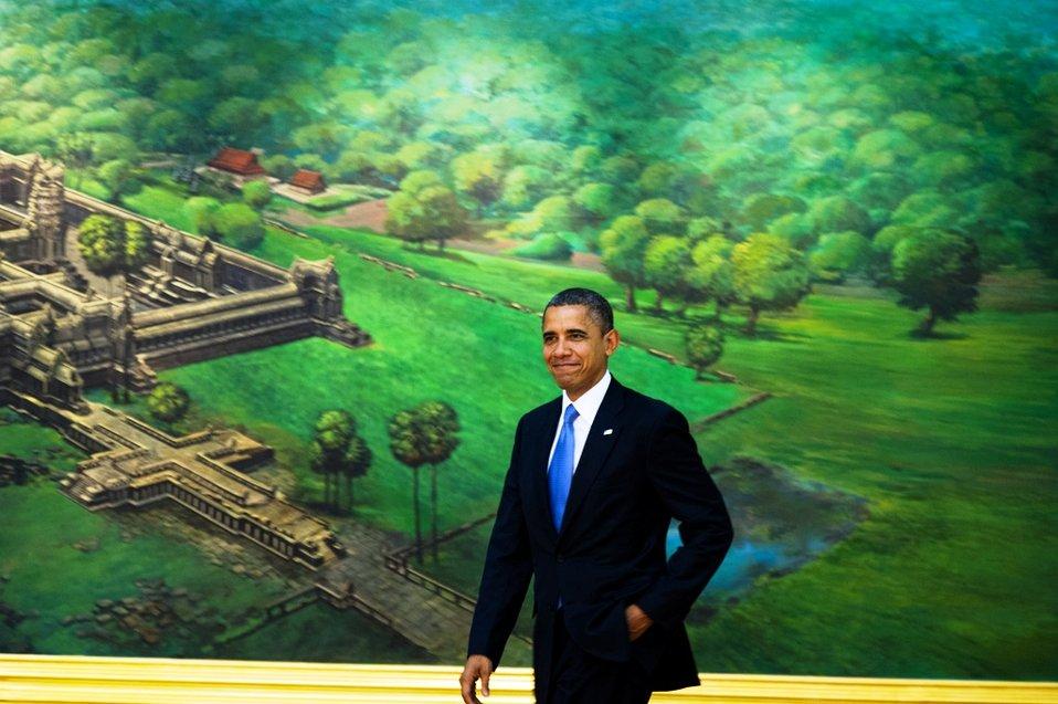 President Obama at the ASEAN-U.S. Leaders' Meeting