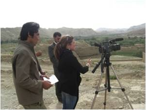 State TV reporters Trained To Make a Documentary