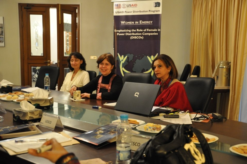 DISCOs Gender Consultation Meeting at  USAID Power Distribution Program Office Islamabad