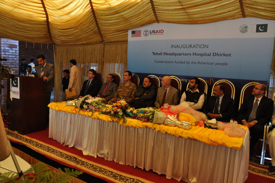 Dhirkot Reconstructed Hospital Inauguration Pakistan Reconstruction Program 19