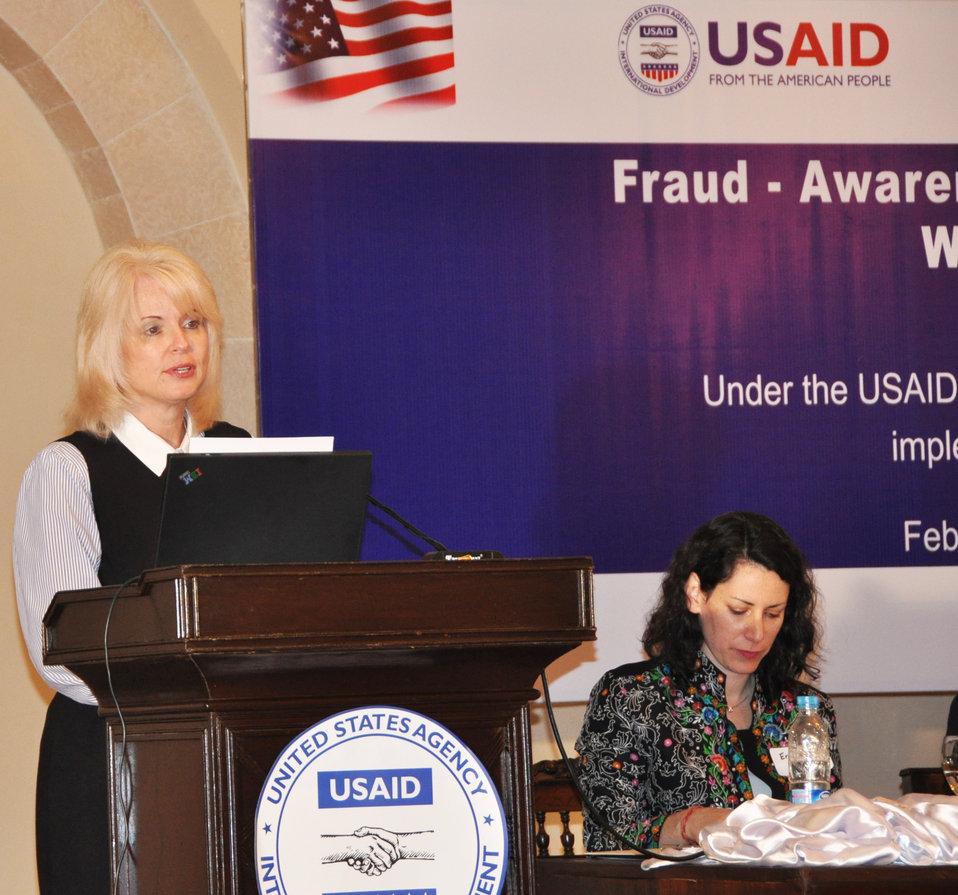 USAID Pakistan–sponsored Fraud Awareness Workshop
