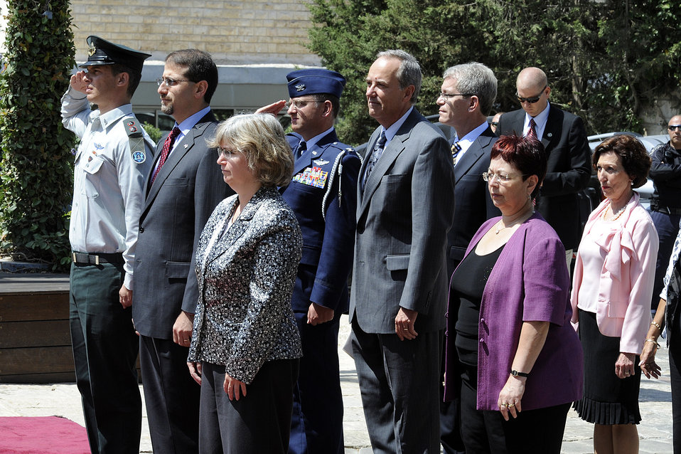 Ambassador Shapiro Prepares To Present His Credentials