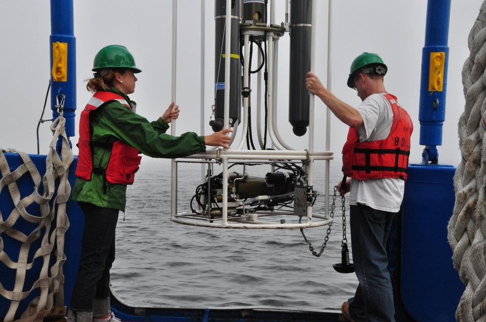 August 2009, Deploying the CTD