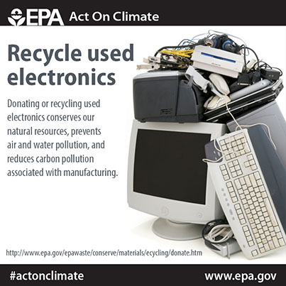 Recycle used electronics