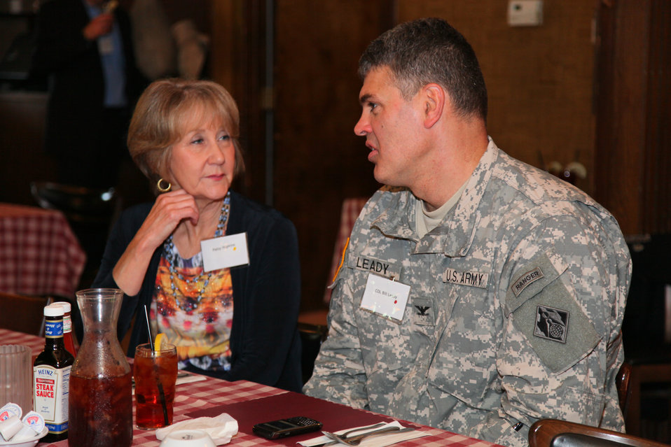 Retirees join Col. Leady at 30th annual luncheon