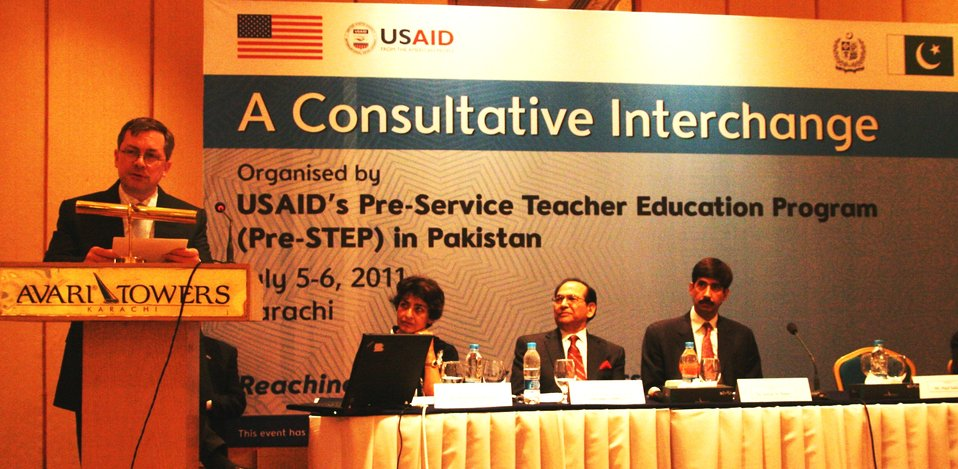 U.S. is supporting teacher education reforms in Pakistan