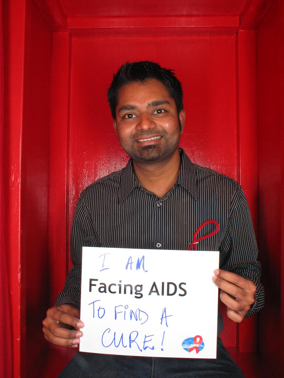 I am Facing AIDS to find a cure!