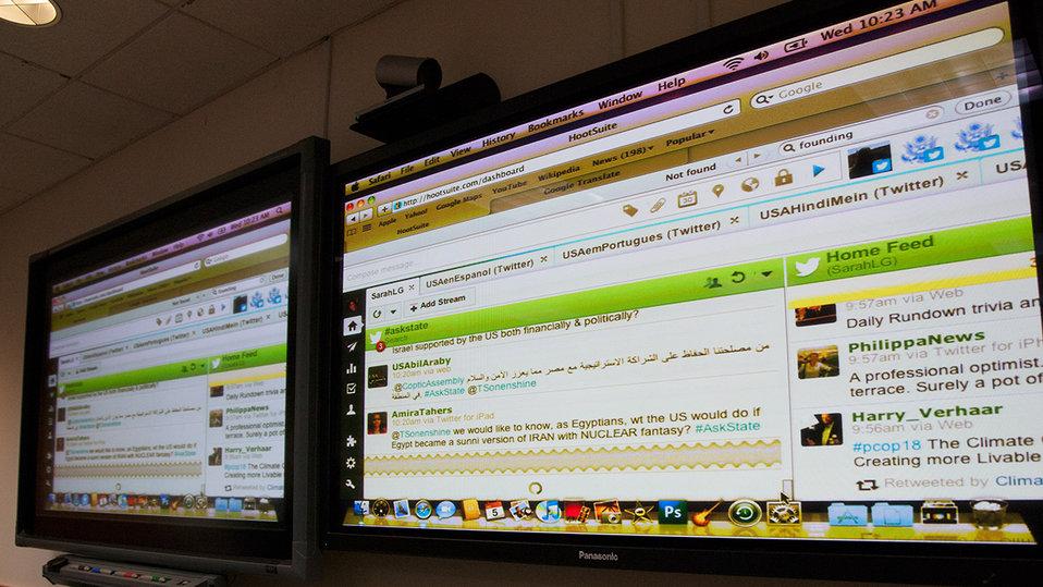 Under Secretary Sonenshine Participates in a Global Twitter QandA