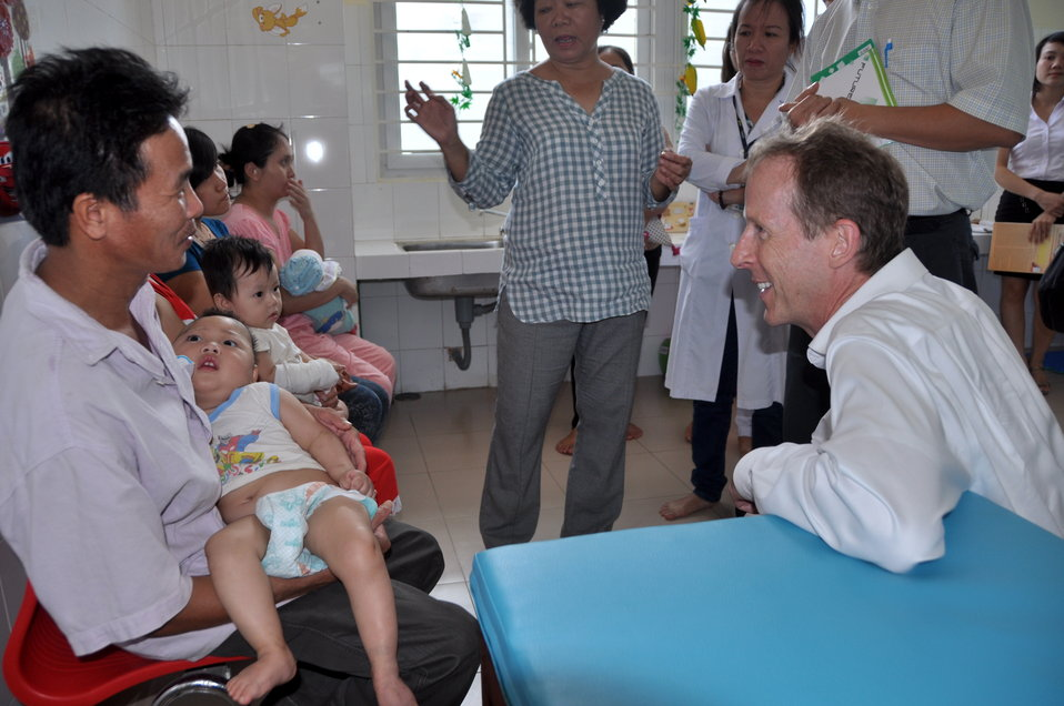 USAID Mission Director Joakim Parker and USAID Partners Join to Open Rehabilitation Department at Women's and Children's Hospital of Danang