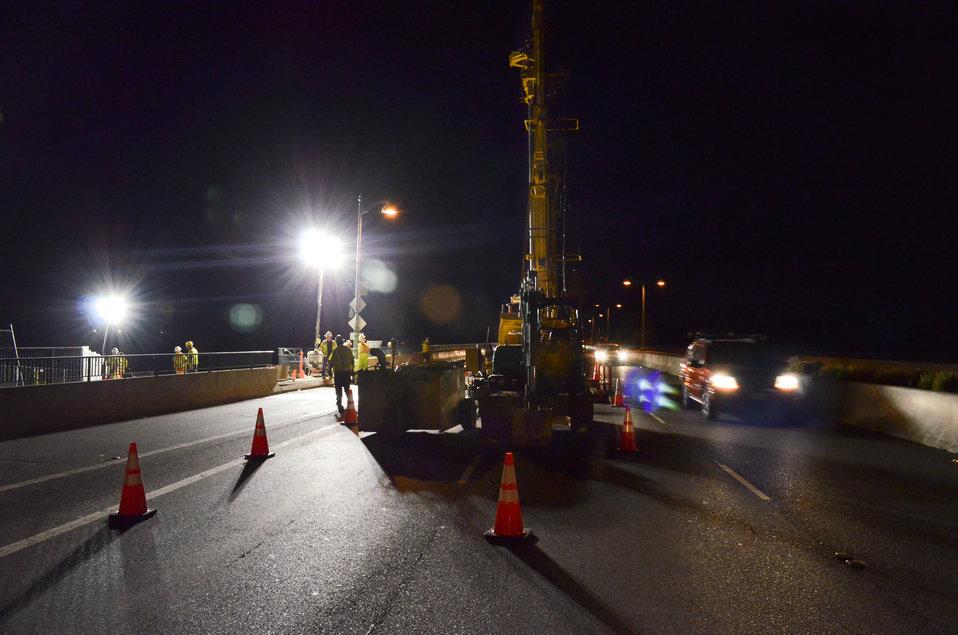 Temporary nighttime lane closures on Sacramento's Watt Avenue bridge
