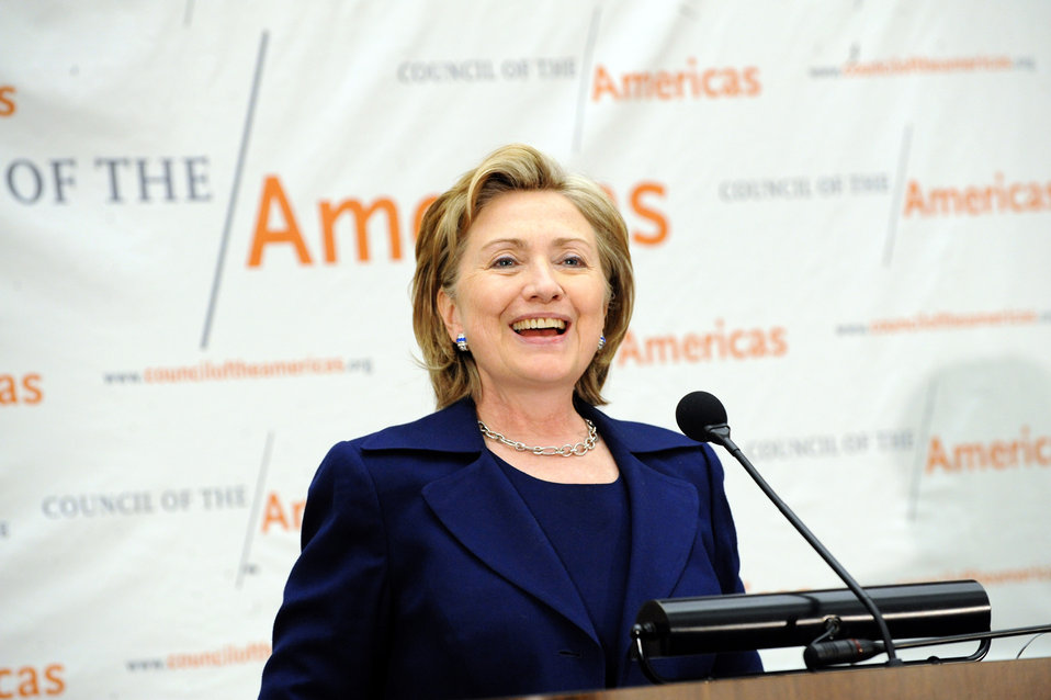 Secretary Clinton Remarks at Washington Conference of the Council of the Americas
