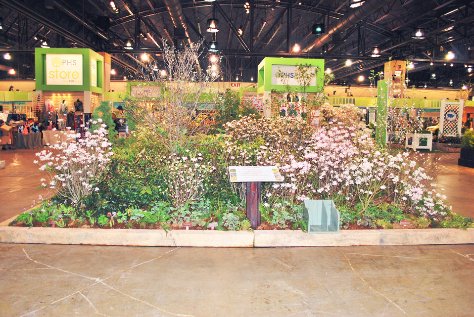 EPA's display at the Philadelphia Flower Show, 2014
