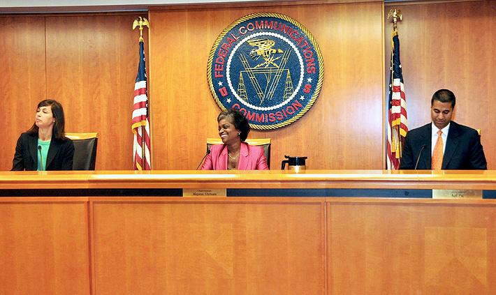 FCC Chair Clyburn convenes FCC open meeting as first woman Chair 6-27-2013