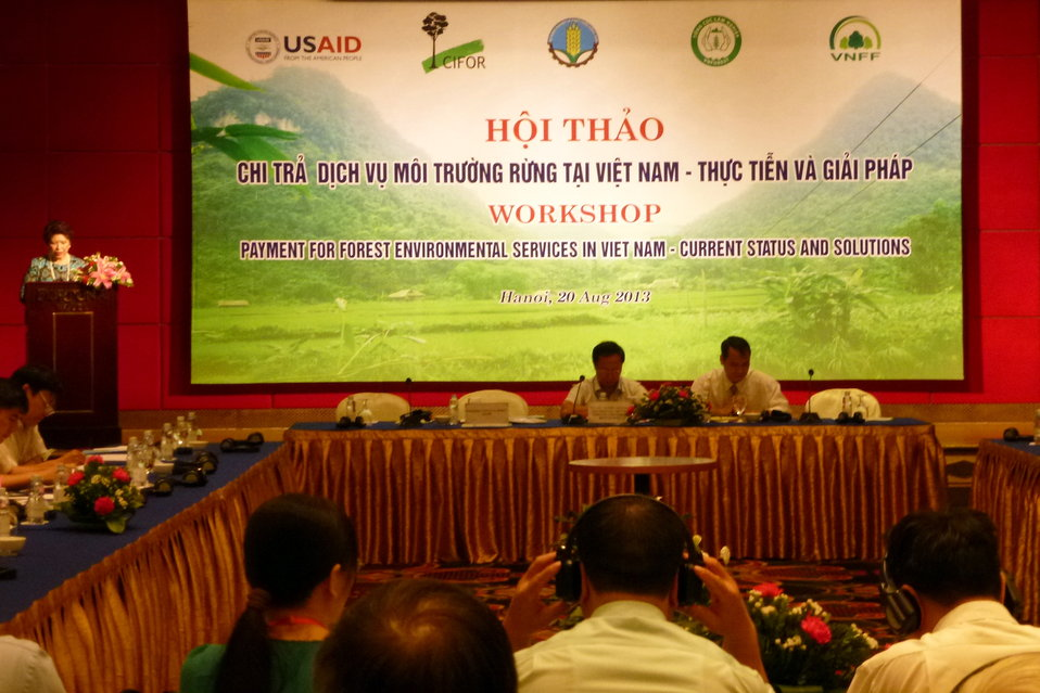 Payment for Forest Environmental Services Workshop