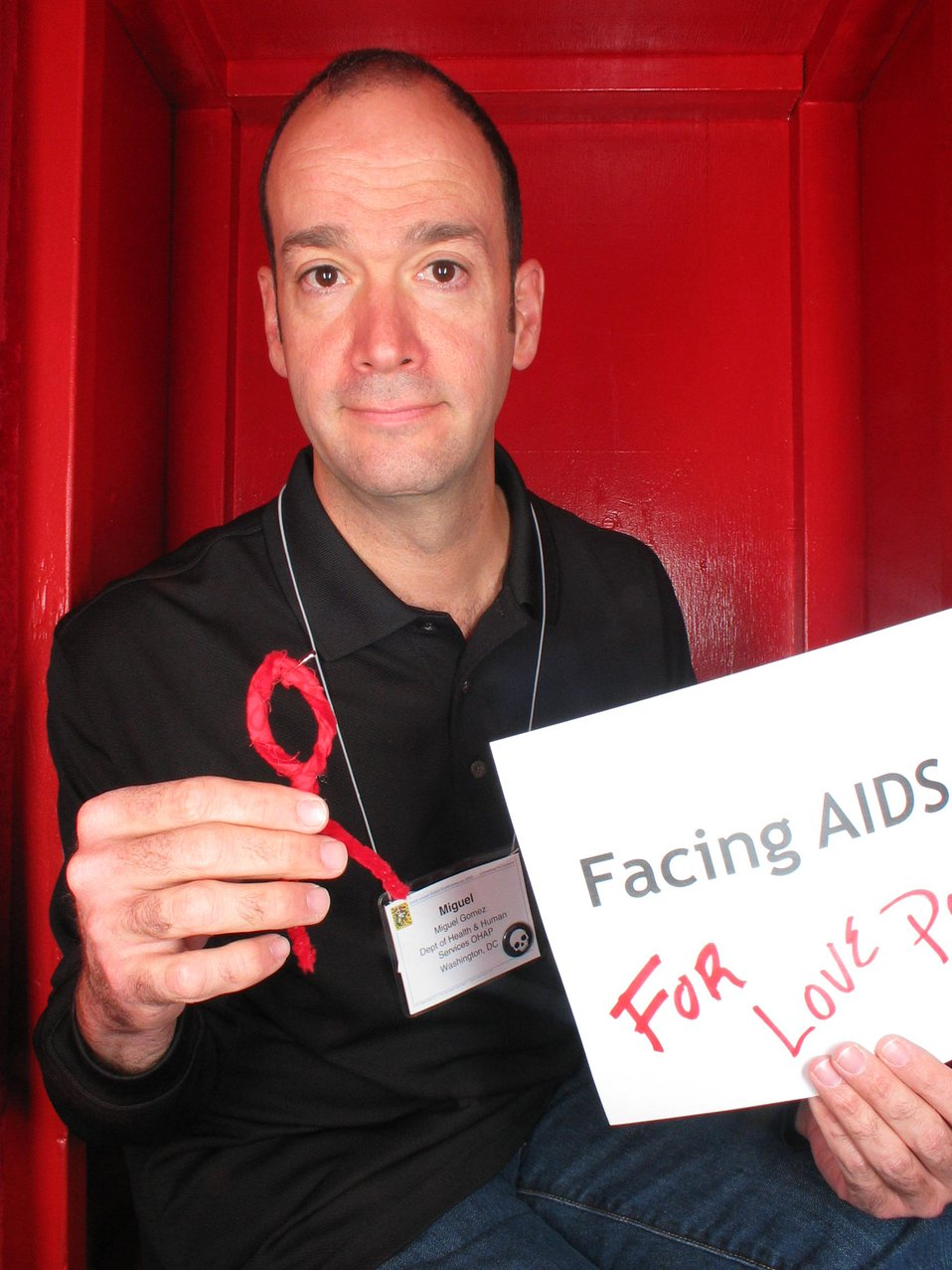Facing AIDS for love