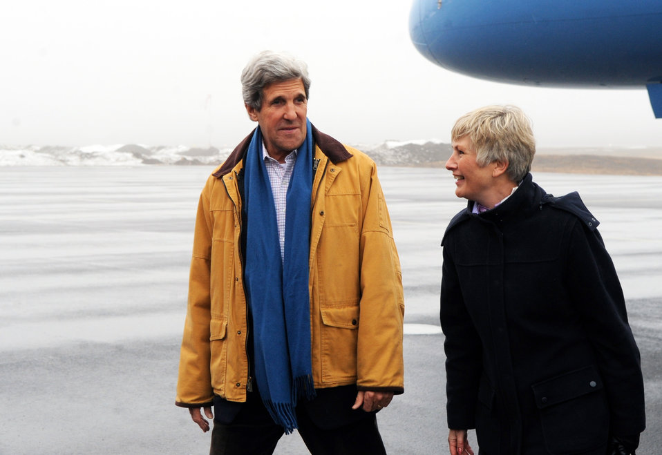 Secretary Kerry Arrives in Kiruna, Sweden